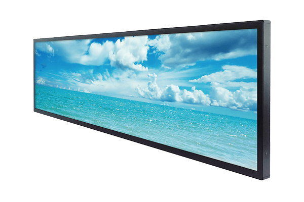 47 inch by 13 inch bar-type LCD display