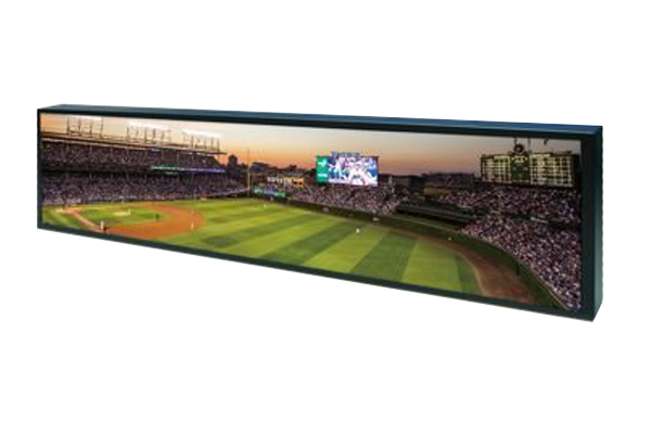 50 inch by 14 inch bar-type LCD display