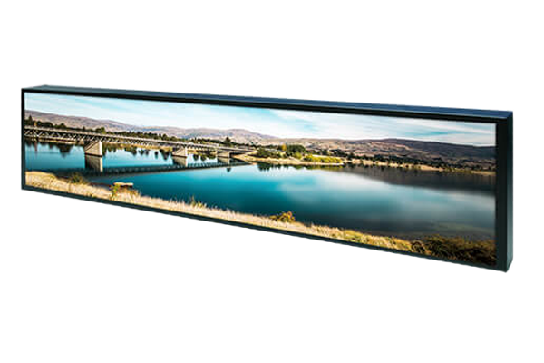 56 inch by 11 inch Bar-Type LCD Display